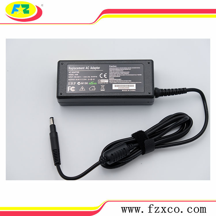 65w Power Supply Laptop Adapter for HP